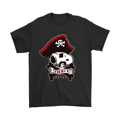 Fierce Pirate Captain Snoopy Shirts