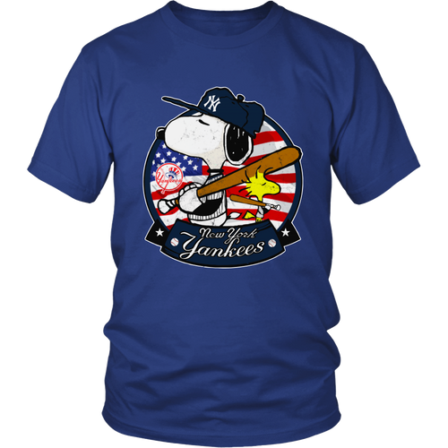New York Yankees Snoopy Shirts