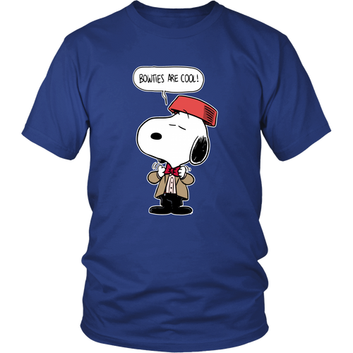 Bow Ties Are Cool Doctor Who Snoopy Shirts