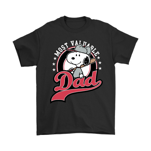 Happy Father's Day Most Valuable Dad Snoopy Shirts