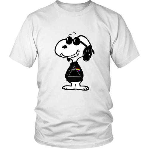 Joe Cool Pink Floyd Style Snoopy Shirts