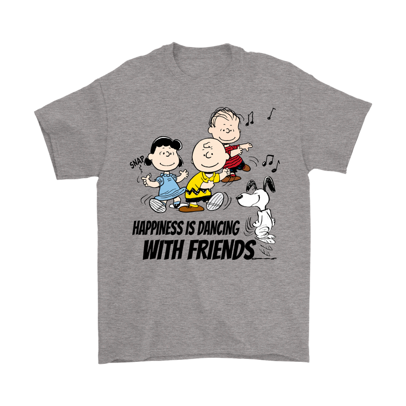 Happiness Is Dancing With Friends Snoopy Shirts