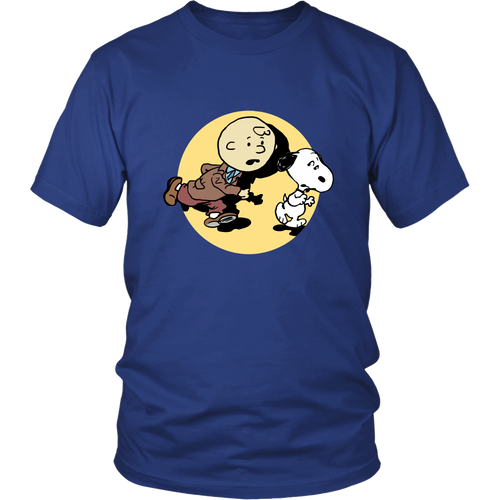 Adventures Of Charlie Tintin Snoopy Shirts