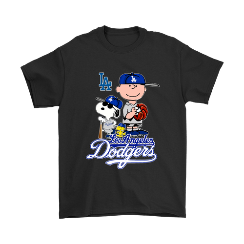 Baseball Los Angeles Dodgers Snoopy Shirts