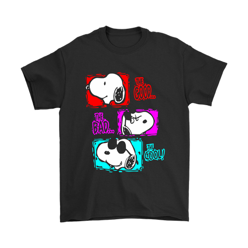 The Good The Bad And The Cool Mashup Snoopy Shirts