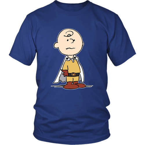 Charlie Brown One Punch Man Snoopy Shirts