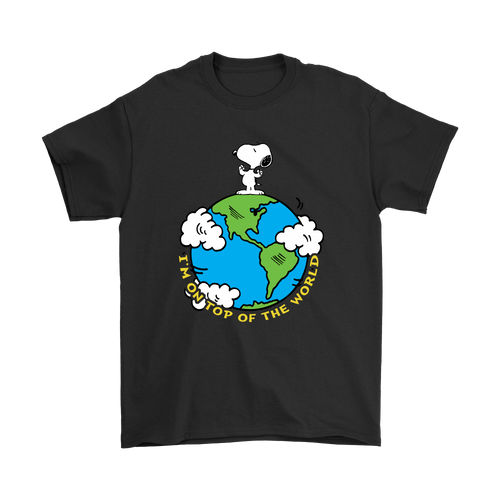 I'm On Top Of The World Snoopy Shirts