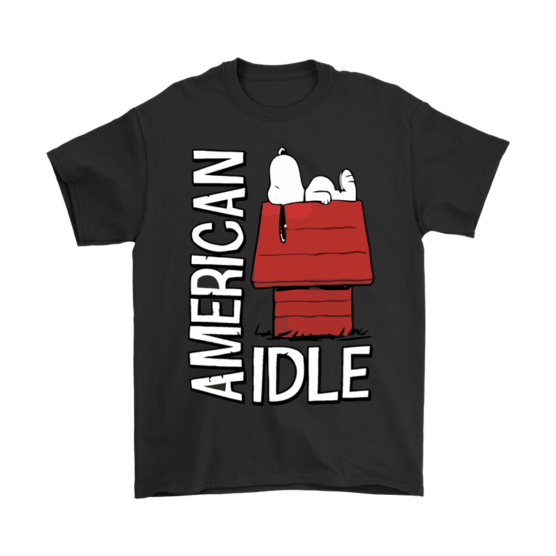 American Idle Lazy Snoopy Shirts