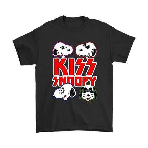 Kiss Band Snoopy Shirts