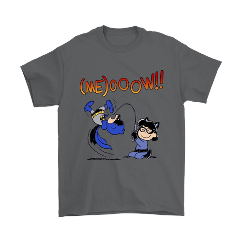 Charlie Batman And Lucy Catwoman Snoopy Shirts