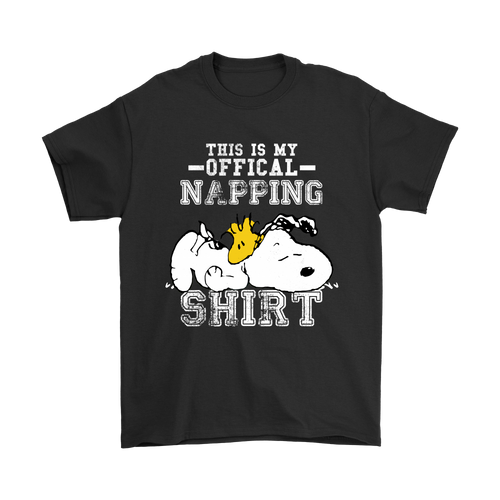 This Is My Offical Napping Woodstock And Snoopy Shirts