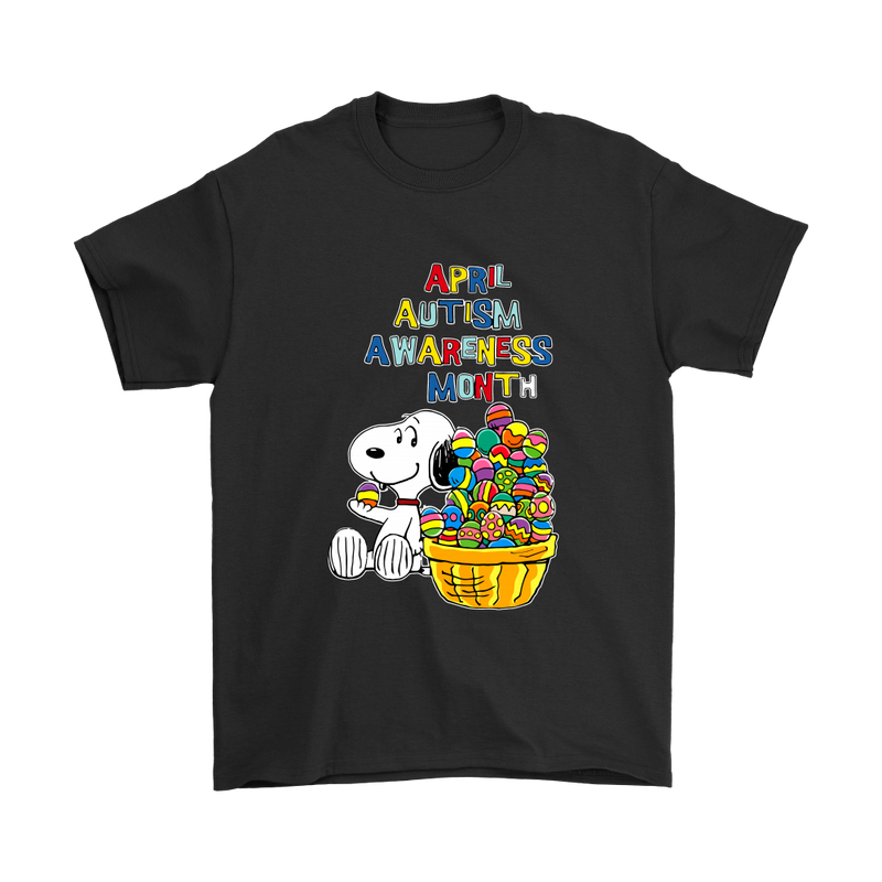 April Autism Awareness Month Snoopy Shirts