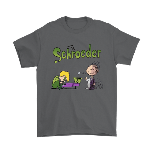 Batman The Schroeder And Two Face Pig Pen Snoopy Shirts