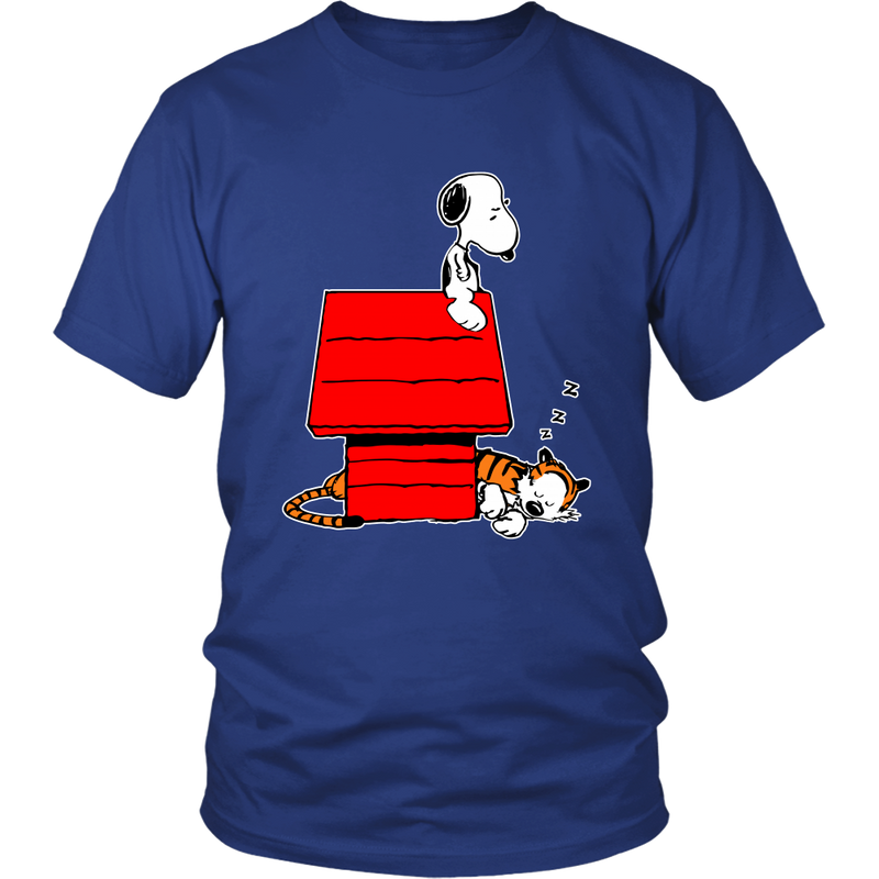 Snoopy And Hobbes Calvin And Hobbes Snoopy Shirts