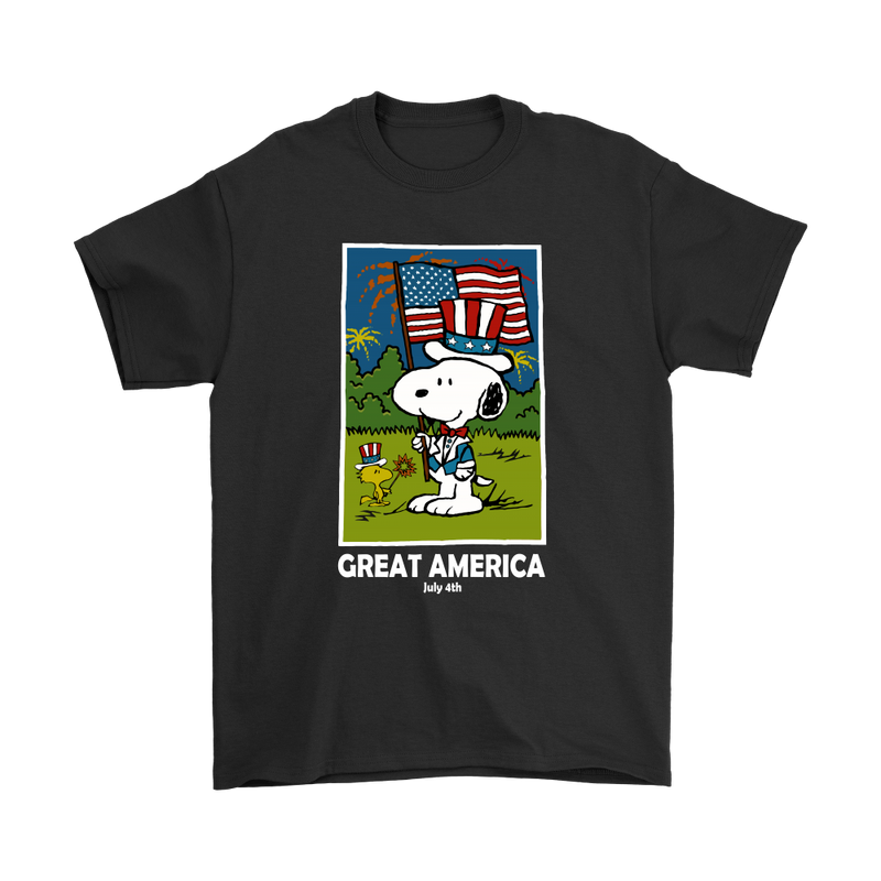 Independence Day Great America July 4th Snoopy Shirts