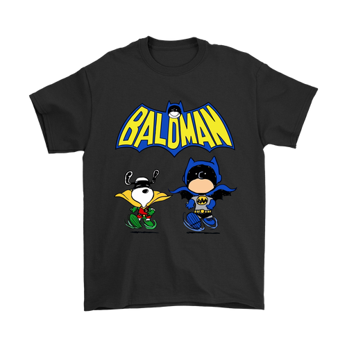 Charlie Batman And Robin Snoopy Shirts