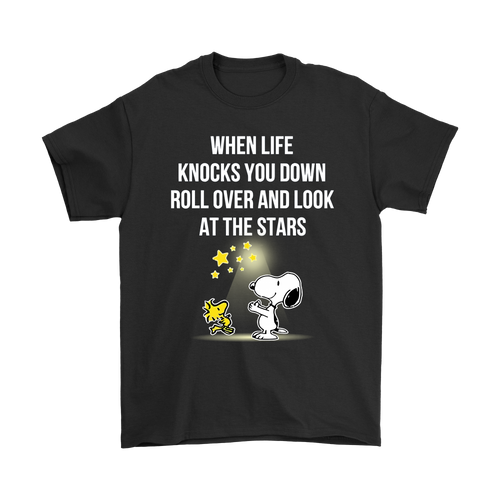 When Life Knocks You Down Snoopy Shirts