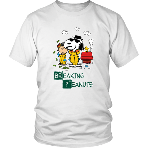 Breaking Cool Peanuts Snoopy Shirts