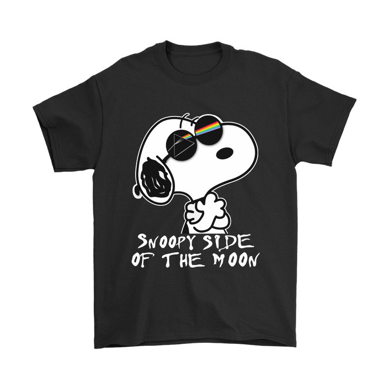 Joe Cool Side Of The Moon Snoopy Shirts