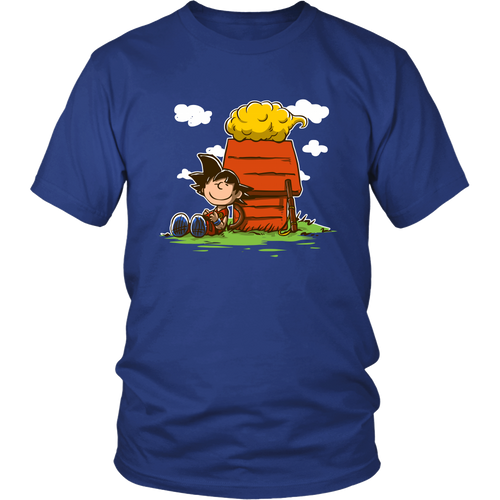 Charlie Goku Dragon Ball Snoopy Shirts