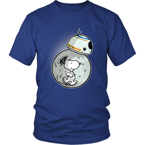 BB8 - Star Wars Snoopy Shirts
