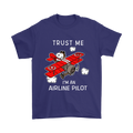 Trust me I'm An Airline Pilot Snoopy Shirts