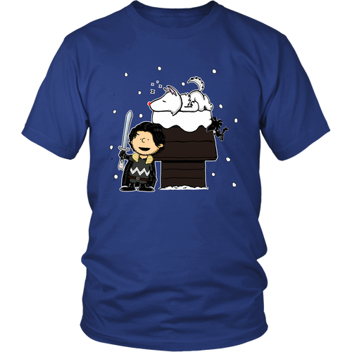 Charlie Snow Game Of Thrones Snoopy Shirts