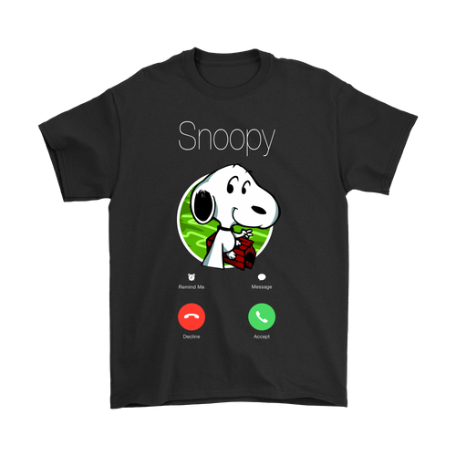 The Phone Call Snoopy Shirts