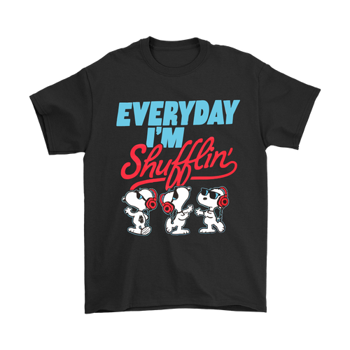 Joe Cool Everyday I'm Shufflin' Dancing Snoopy Shirts
