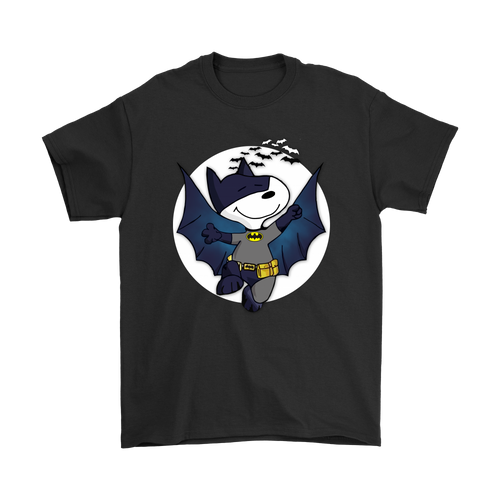 Batman It Was A Dark And Stormy Night Bat Beagle Snoopy Shirts