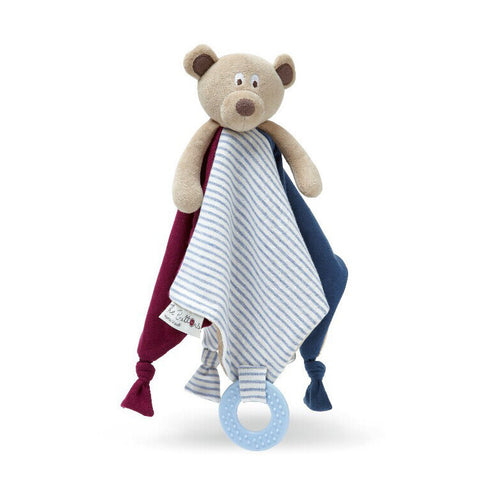 Soothing Towel Bear (with teether) - Jeyve.com