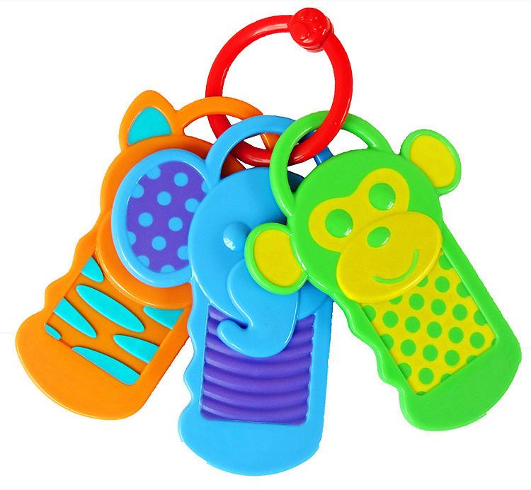 Click Clack Key Baby Teether - Jeyve.com