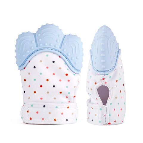 BiteMitten™ Baby Teething Gloves Food Grade BPA Free - Jeyve.com