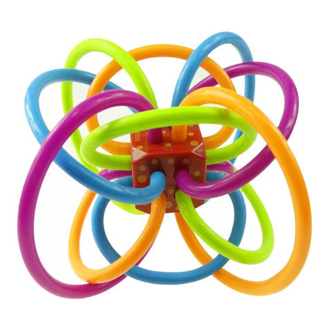 Rattle and Sensory Teether Activity Toy - Jeyve.com