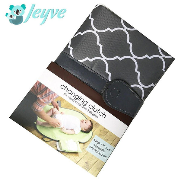 Baby Diaper Changing Clutch - Jeyve.com
