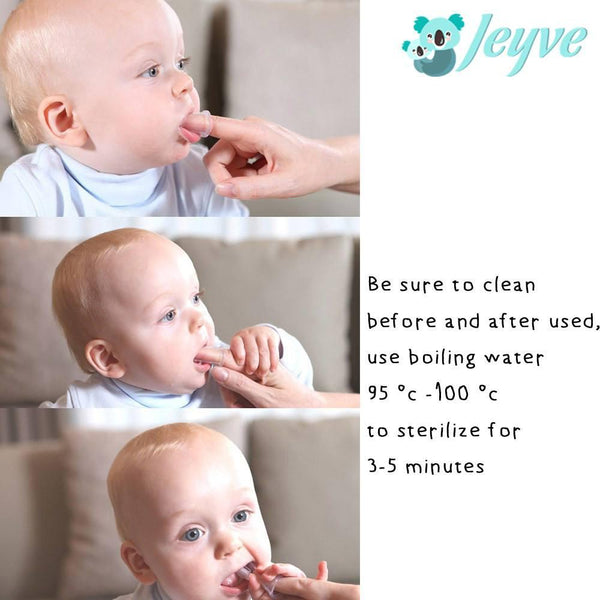 Soft Silicone Finger Toothbrush - Jeyve.com
