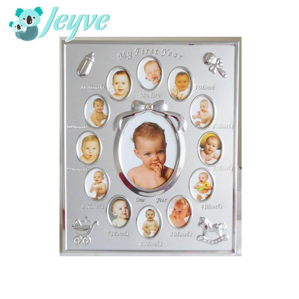 nursery keepsack my first year baby frame - My First Year Photo Frame