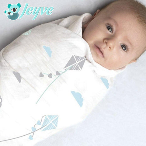 Muslin Bamboo Baby Swaddle Blanket - Jeyve.com