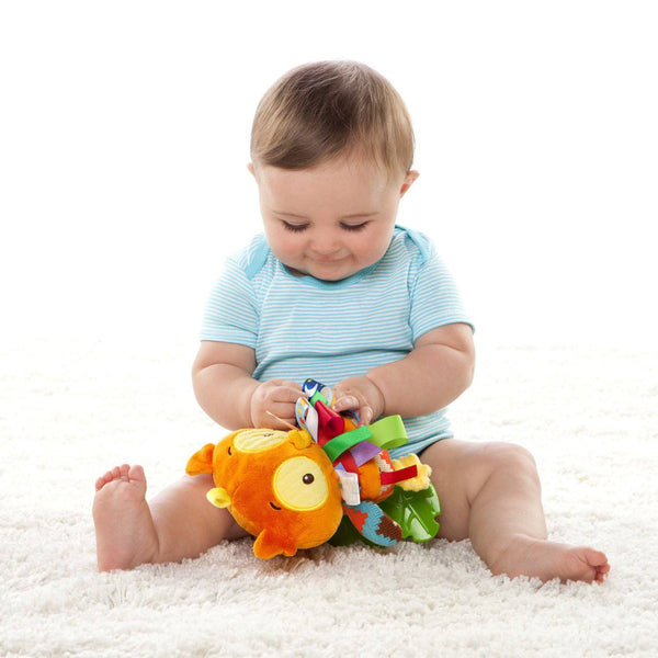 Owl Baby Learning Tag Toy - Jeyve.com
