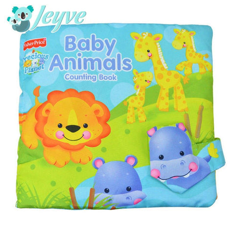 Cloth Book (Baby Animals) - Jeyve.com