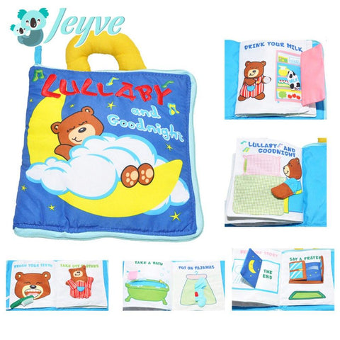 Cloth Book (Lullaby) - Jeyve.com