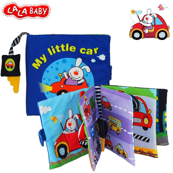 Cloth Book (My little Car) - Jeyve.com