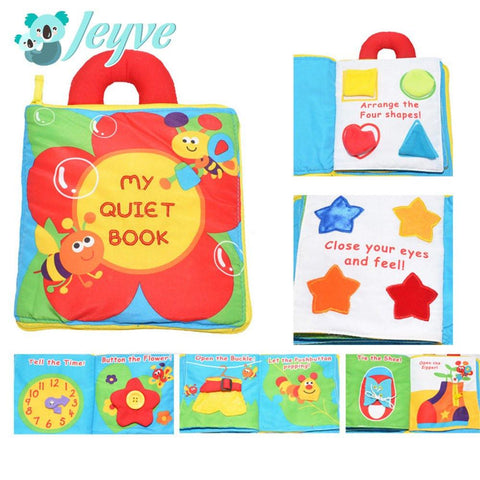 Cloth Book (Quiet Book) - Jeyve.com