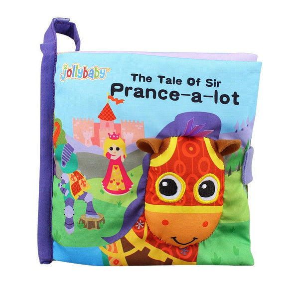 Cloth Book (Owl & Horse) - Jeyve.com