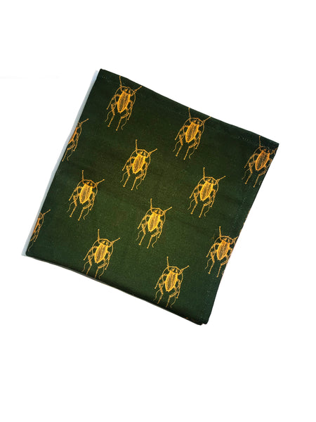 Cockroach [YellowGreen] Napkins (set of two)