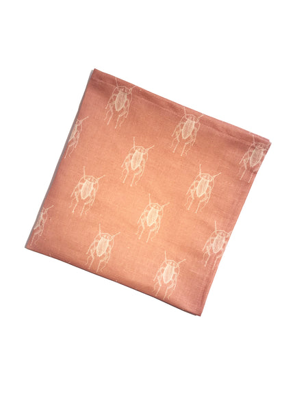 Cockroach [PearlPink] Napkins (set of two)