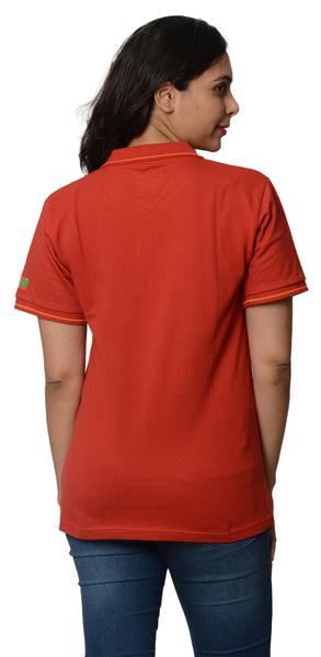 My Indian Dream Women's Premium Polo (Red)