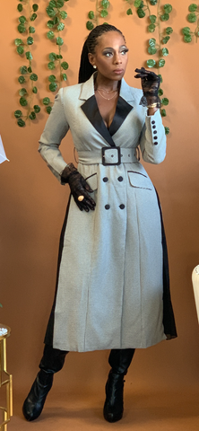 Mrs G Coat Dress