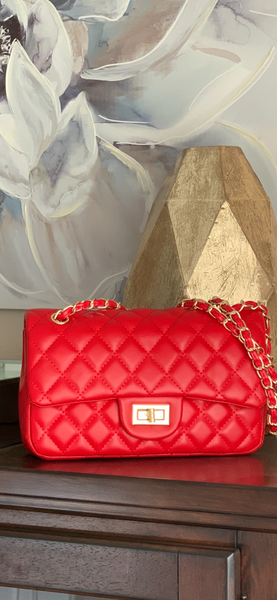 Newly Restocked Medium Quilted Handbag