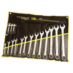 Trades Pro 16Pc Imperial R&Oe Spanner Set